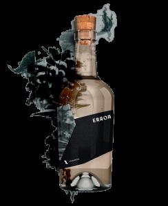 Flasche Siegerrebe Traube